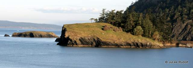 Rosario Head viewed from Lighthouse Point Trail
