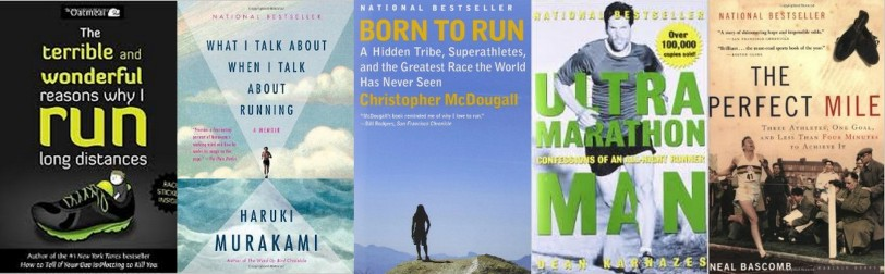Book Snob's Five Favorite Reads about Running
