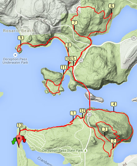 proposed deception pass half course