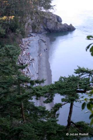 North Beach nearest the Deception Pass Bridge