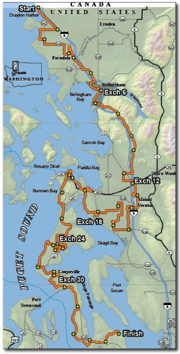 Ragnar NW Passage map 2014