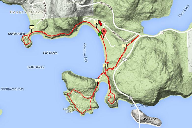 trail route bowman