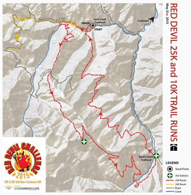 Red Devil Trail Run flyer