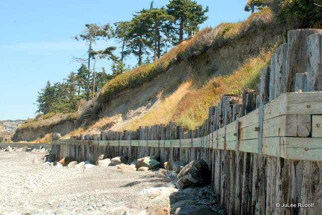 bulkhead at Libbey Beach