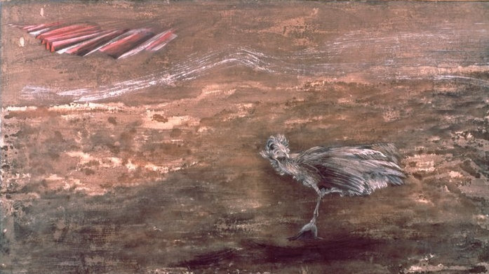 Bird Maddened by the Sound of Machinery in the Air 1944